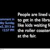 Fayetteville library presentation
