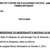 State's response to Gillean's motion to dismiss