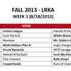 Week 1 Kickball