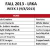 Week 3 Kickball