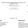 Notice of intent to file civil suit against ExxonMobil, PHMSA