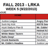 Week 5 Kickball