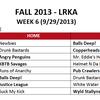 Week 6 Kickball