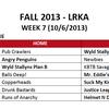 Week 7 Kickball