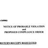 ExxonMobil $2.6 million fine