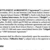Updated draft of school desegregation lawsuit settlement