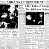 Arkansas Democrat front page Nov. 24, 1963