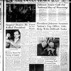 Arkansas Democrat front page Nov. 23, 1963