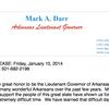Mark Darr resignation letter
