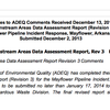 Responses to ADEQ Comments