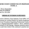 Order to suspend Andrea Davis' law license