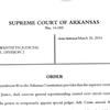 Arkansas Supreme Court reassigns Judge Maggio's cases