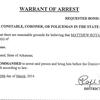 Arrest warrant for Matthew Davis - manslaughter