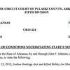 Prosecution requests dismissal of charges against Josh Hastings