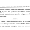 Separation agreement for ex-Supt. Randy Rutherford