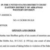 Judge Holmes denies acquittal for Shoffner