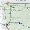 Interstate 49 map