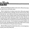 Saline County Clerk's statement on same-sex marriage