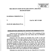 Order denying defendants' motion for immediate stay