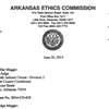 Ethics Commission's offer of settlement to Michael Maggio