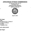Ethics Commission issues final action letter to Michael Maggio