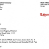 Exxon Mobil remedial work plan proposal