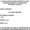 Defense of legal fees in desegregation lawsuit