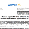 Wal-Mart earnings report, Q1 2015