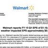 Wal-Mart earnings report, Q1 2015