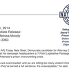Nate Steel's 7-point legislative package