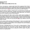 Chief Yates Press Release