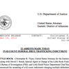Brewster drug-trafficking organization indictment