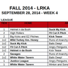 09.28.14 Week Four Kickball