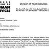 Letter to Sebastian County Juvenile Detention Center