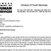 Letter to Washington County Juvenile Detention Center