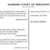 Supreme Court of Arkansas ruling on Arkansas Alcohol Beverage Amendment