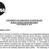 NCAA Public Infractions Decision for UAPB