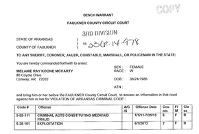 how to get a bench warrant recalled - 28 images - criminal ...