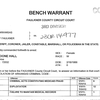 Arrest warrant for Kathy Hall