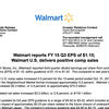 Wal-Mart earnings report, Q3 2015
