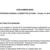 UALR proposed baseball corrective actions