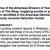Division of Youth Services response to The Wrap