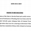 Order to revoke bond for Jermain Taylor