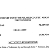 Motion to revoke bond for Jermain Taylor