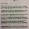 Letter from HHS Secretary Burwell