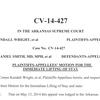 Plaintiffs' motion for lifting of stay
