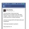 Bolding Facebook comments