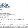 Recusal letter