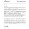 Springdale Police Chief Kathy O'Kelley retirement letter