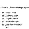 Little Rock School District honorees